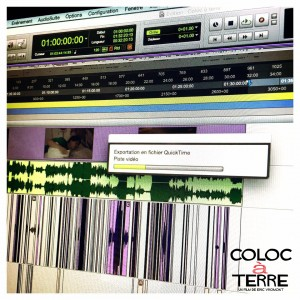 News 016 - Mix coloc à terre fini